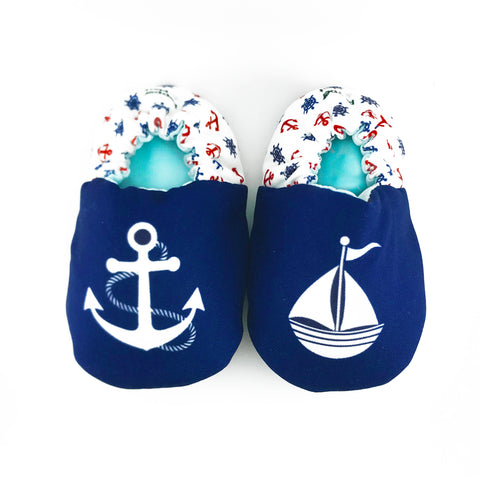 Nautical Mini Shoes