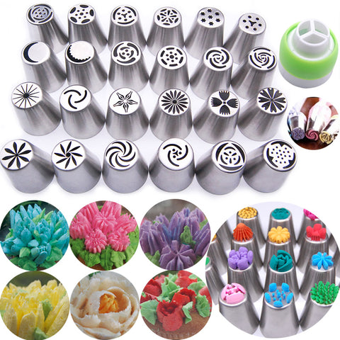 CAKE LOVER  FLOWER-SHAPED FROSTING NOZZLES