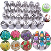Image of CAKE LOVER  FLOWER-SHAPED FROSTING NOZZLES