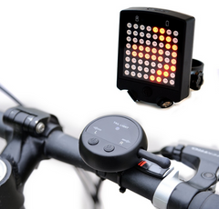 Remote Laser Bicycle Tail LED Light