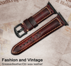 Image of High-Quality Leather Apple Watch Band