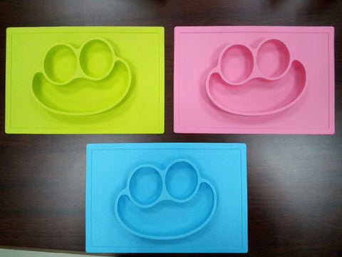 Happy Mat Plate For Baby