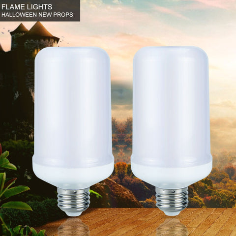 LED Flickering Flame Light Bulb
