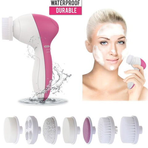 7-in-1 Electric Facial Massager Deep Cleaner