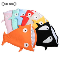 2018 Newborn Baby Shark Sleeping Bag