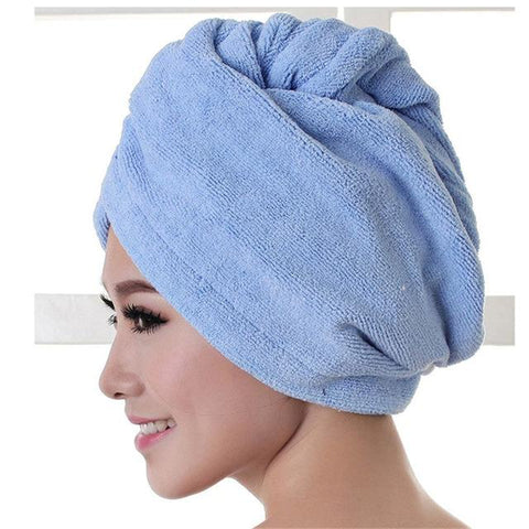 Long Hair Quick Drying Towel