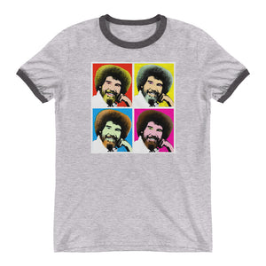 Bob Ross Ringer T-Shirt