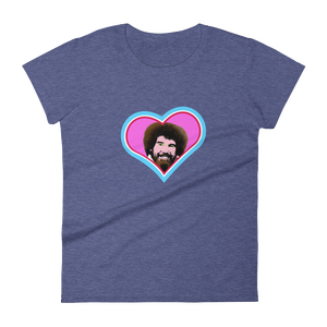 I Heart Bob Ross Women's short sleeve t-shirt