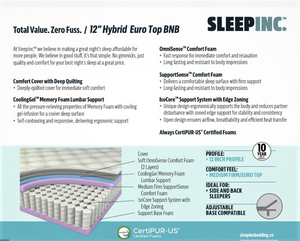 SLEEP INC.  Hybrid BNB