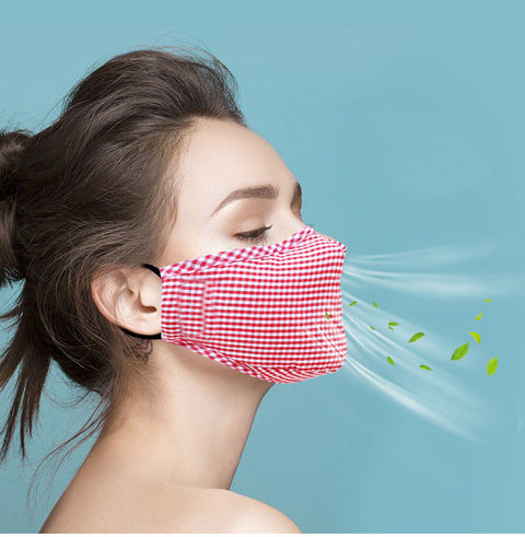 Wash-&-Wear & wash-&-wear pp cotton cloth masks easy breathing wind resistant & dust resistant men & female change filter non-disposable Mask