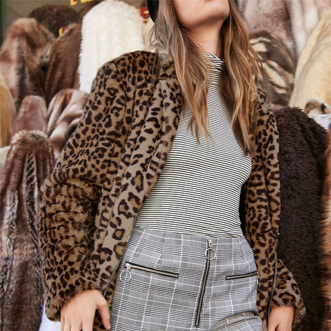 Cold season Panthera Faux Fur and Jackets Outwear Coats