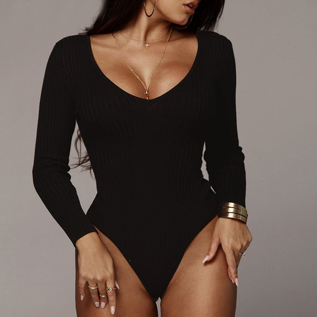 Off Shoulder Ribbed with knit