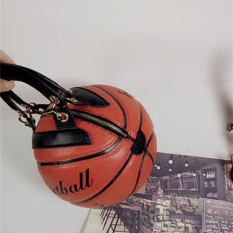 Basketball Shape Messenger Bags For young lady