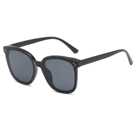 New big box retro sunglasses unisex fashion sunglasses star