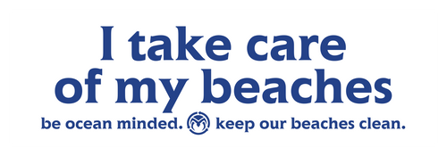 I Take Care of My Beaches Sticker
