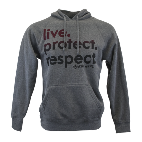 "Live. Protect. Respect. - Women's ""Slouchy"" Tee"