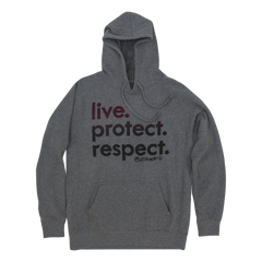 Live. Protect. Respect. - Men's Pullover Hoodie