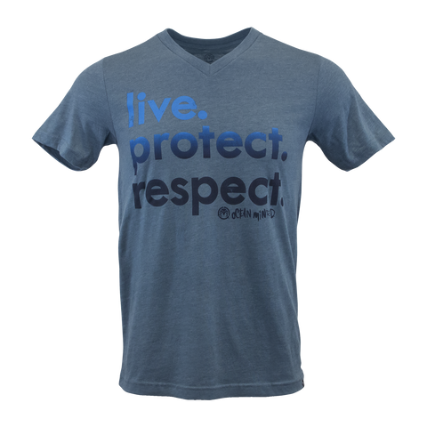 "Live. Protect. Respect. - Women's ""Crop Top"" Tee"