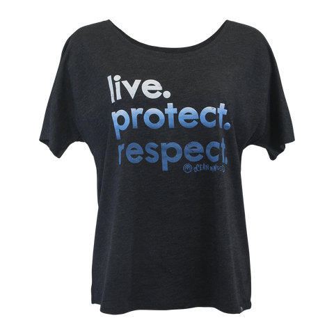 "Live. Protect. Respect. - Men's ""V Neck"" Tee"