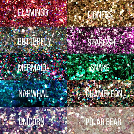 Premium Cosmetic Glitter - Chunky Collection