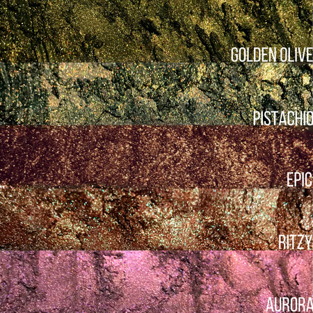 Premium Glow Pigments Bundle