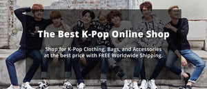 K-Pop Online Shop - Clothing, Accessories, Bags, and Other Merchandise