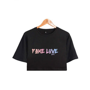 BTS Fake Love Crop Top