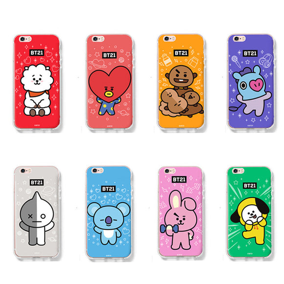 BT21 iPhone Bias Case