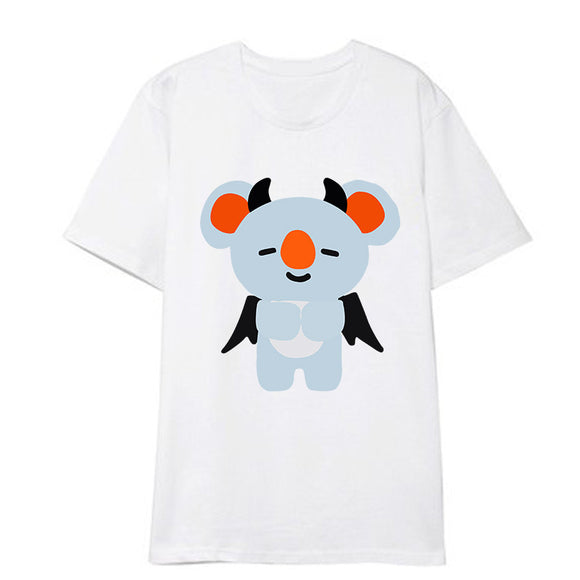BTS x BT21 Halloween Theme Bias T-shirt