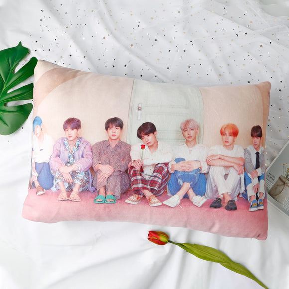 GU197 BTS Love Yourself Map of The soul Double-sided Pillow 40*60cm Cushion