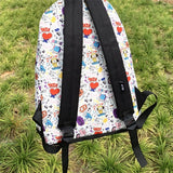 BT21 Character Graphic Mesh Backpack