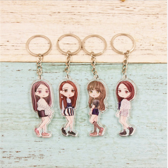 BLACKPINK Bias Figure Keychain