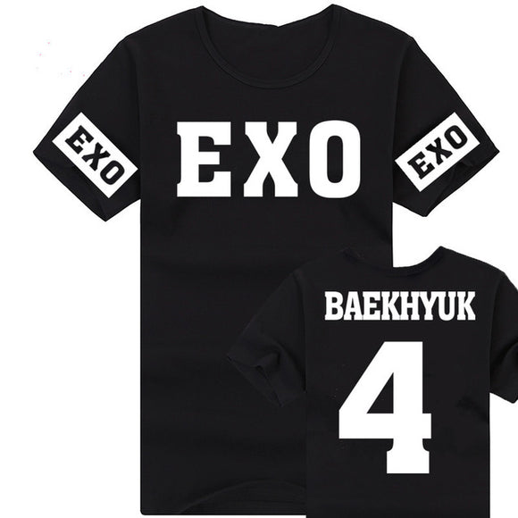 Exo Sleeves Printed T-Shirt