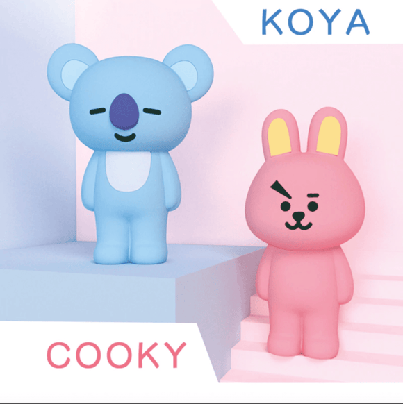 COOKY & KOYA Silicone Pencil Case