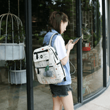 Bobo Charging Canvas Backpack 3 PCs/Set