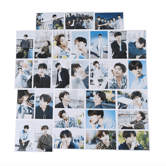 BTS 5th Anniversary Paper Photo Card (30pcs/set)