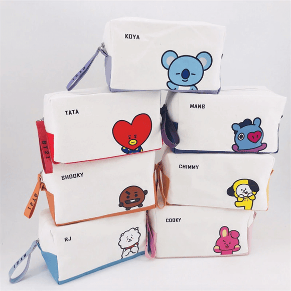 BT21 Bias Pencil/Cosmetic Case