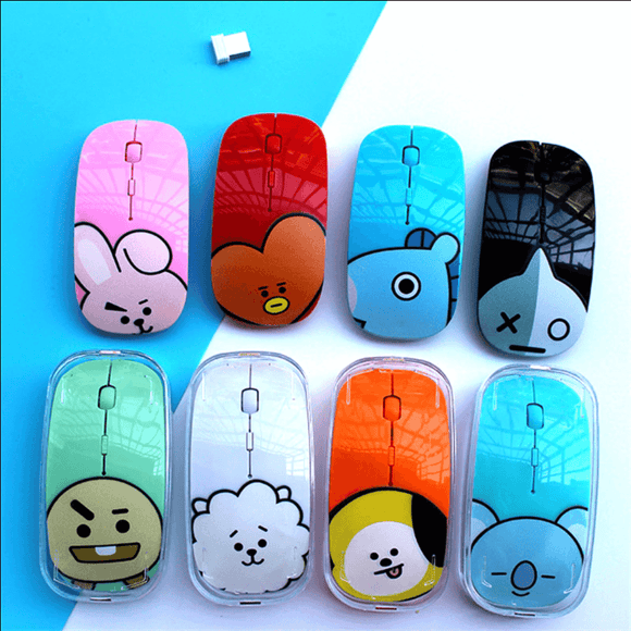 BT21 Bias Wireless Computer Mouse