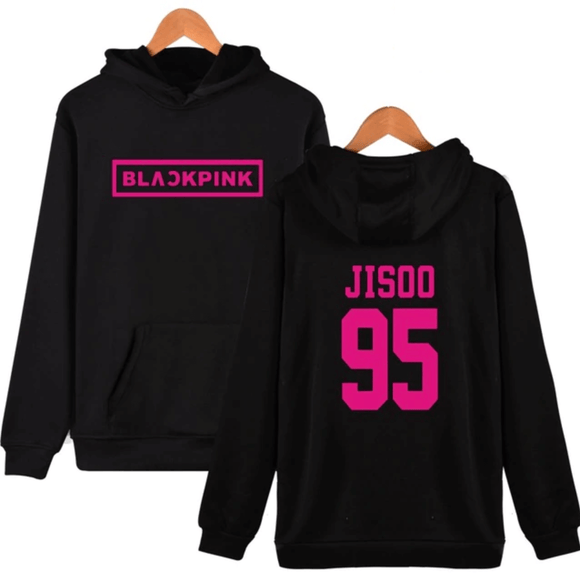 BLACKPINK Bias Name Gradient Print Hoodie