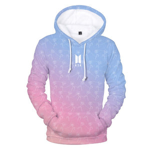 BTS Love Yourself Gradient Hoodie