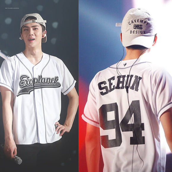 EXO Baseball Design T-Shirt