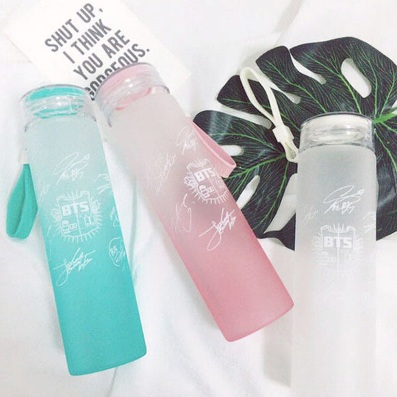 BTS Printed Water Bottle