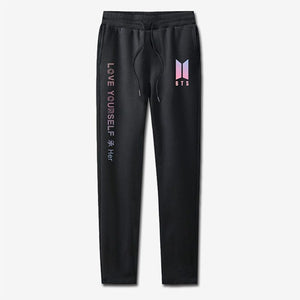 BTS Love Yourself Cotton Trousers - Design 2