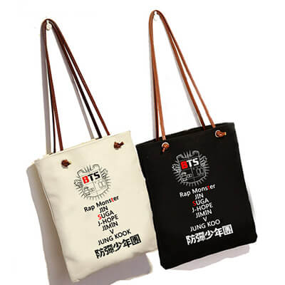 BTS Canvas Bag