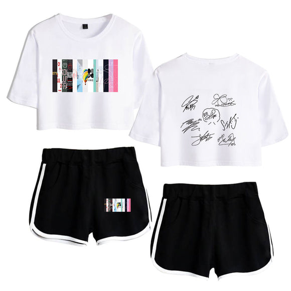 BTS 6th Year Anniversary Crop Top Set