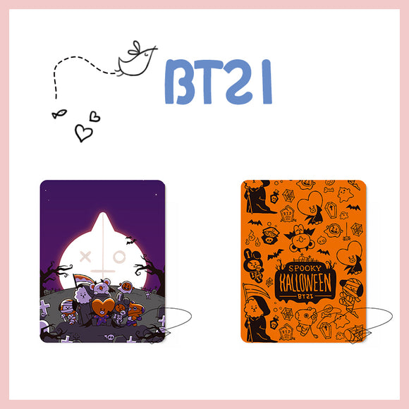 BTS x BT21 Halloween Theme Mousepad
