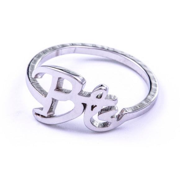 BTS Bias Name Engraving Ring