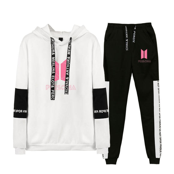 BTS PERSONA Hoodie & Joggers Set