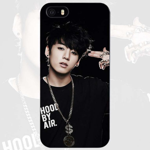 BTS Jungkook Hood By Air iPhone Case