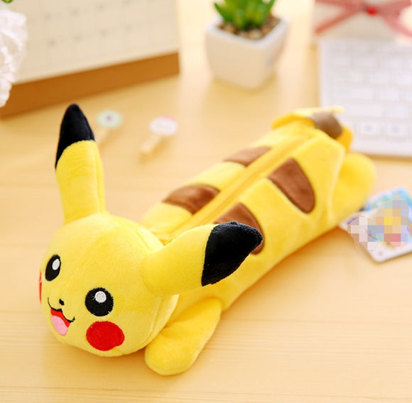Pikachu Plush Pencil Bag